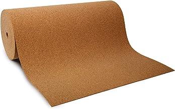Kurkplaat per meter - ook in XXL-formaat, kurk als rol - veel diktes - geluids- en warmte-isolerend, schokabsorberend, for...