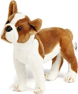 VIAHART Bobby The Boston Terrier Boxer | 15.5 Inch Large Dog Stuffed Animal Plush | by Tiger Tale Toys