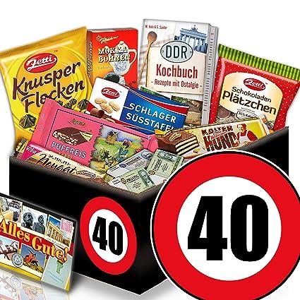 Geschenke zum 40