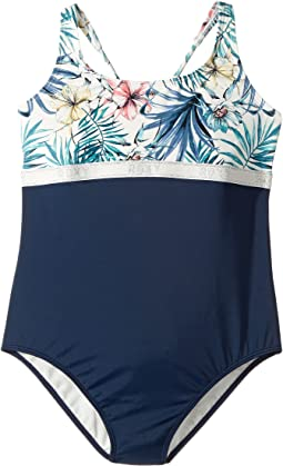 Roxy Kids - Blingbling Surf One-Piece (Big Kids)
