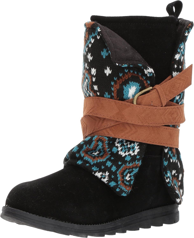 MUK LUKS Womens Women's Nikki Boots- Black Fashion Boot