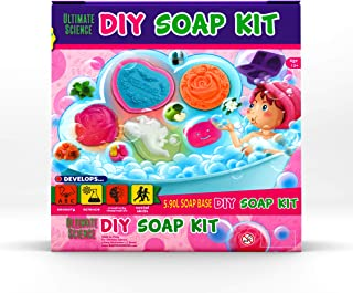 Baby Mushroom DIY Soap Making Kit - Arts and Crafts for Girls with Silicone Molds & Gift Boxes