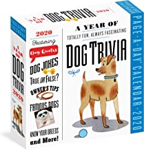 A Year of Dog Trivia Page-A-Day Calendar 2020