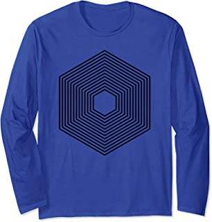 """Packages"" abstract geometric shape web developer Long Sleeve T-Shirt"