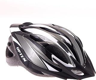 Upten Cycling Helmet Mountain Bike Road Bike Helmets Adult Bicycle Helmets (Grey)