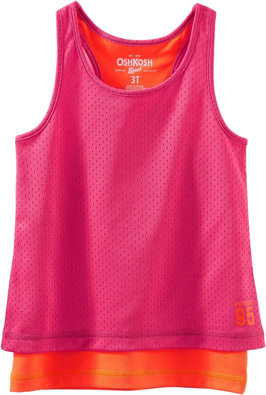 Oshkosh Sleeveless Girls' Tanktop Pink 10