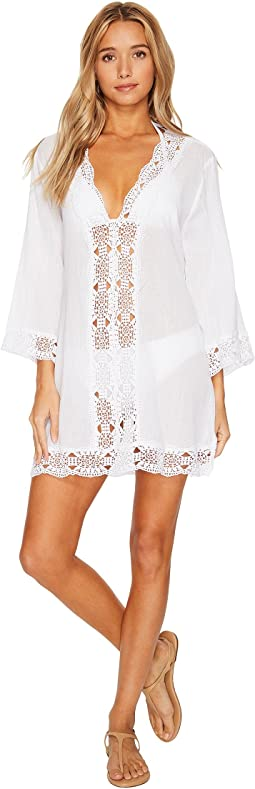 8eebd20f86f32 Island Fare V-Neck Tunic Cover-Up