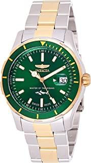 Invicta Men's Pro Diver Quartz Watch with Stainless-Steel Strap, Two Tone, 22 (Model: 25816)