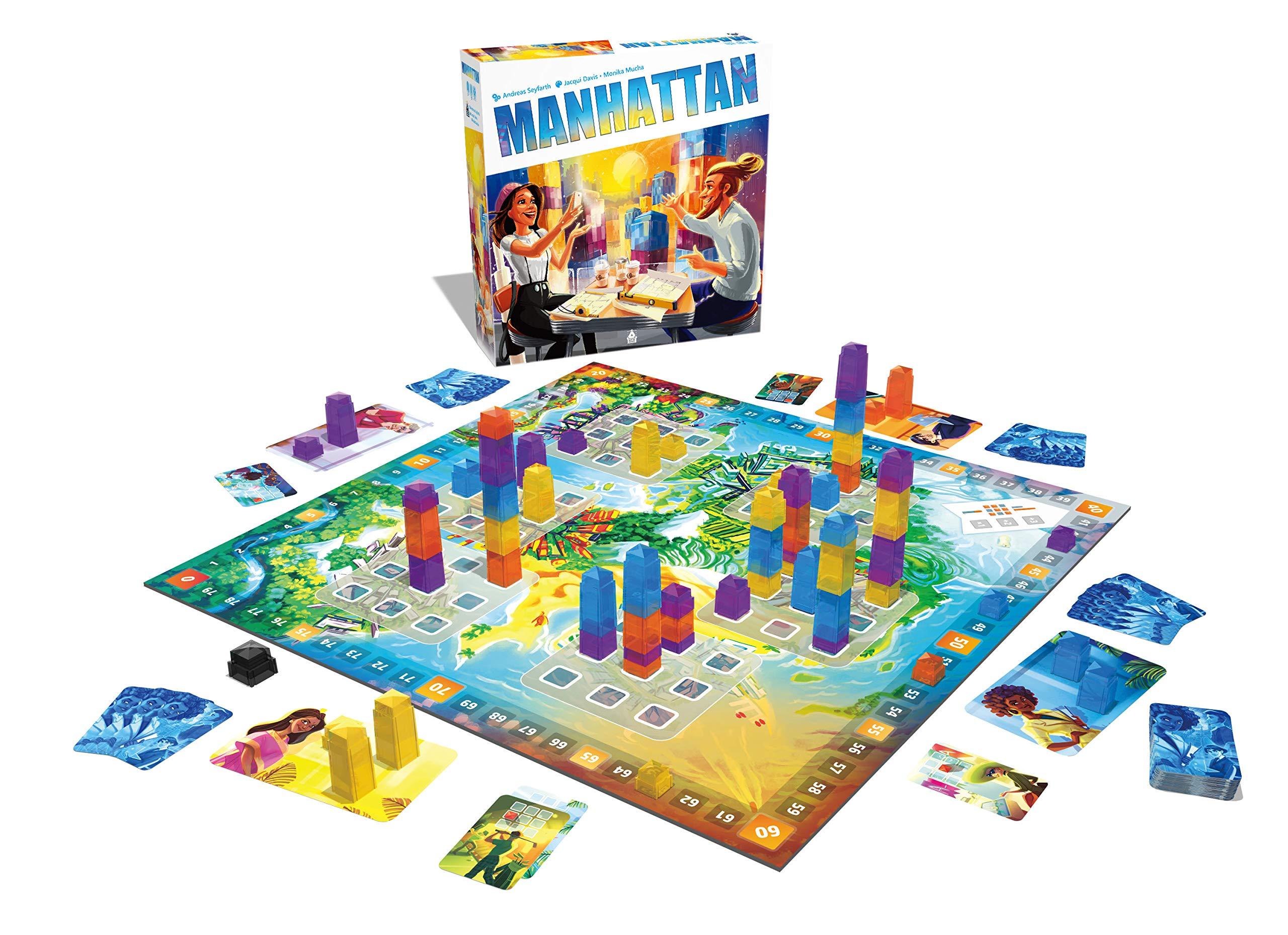 LAST LEVEL Manhattan Nueva edicion, Multicolor (BGMANHATTAN): Amazon.es: Juguetes y juegos