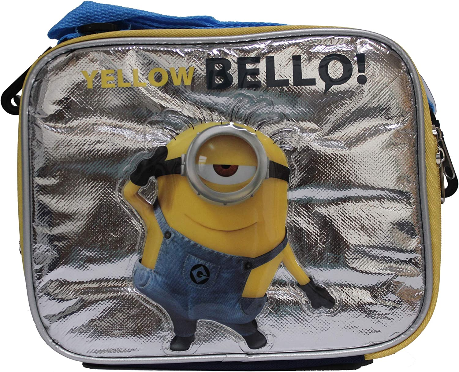 Despicale Me 2 Insulated Lunch Box-Yellow Bello