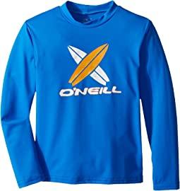 O'Neill Kids Skins Long Sleeve Rash Tee (Infant/Toddler/Little Kids)