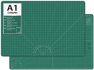 division m/étrique Tapis de d/écoupe//tapis de bureau auto-cicatrisant Tapis de d/écoupe 90 x 60 cm outil de sculpture bricolage /à la main auto-cicatrisant vert