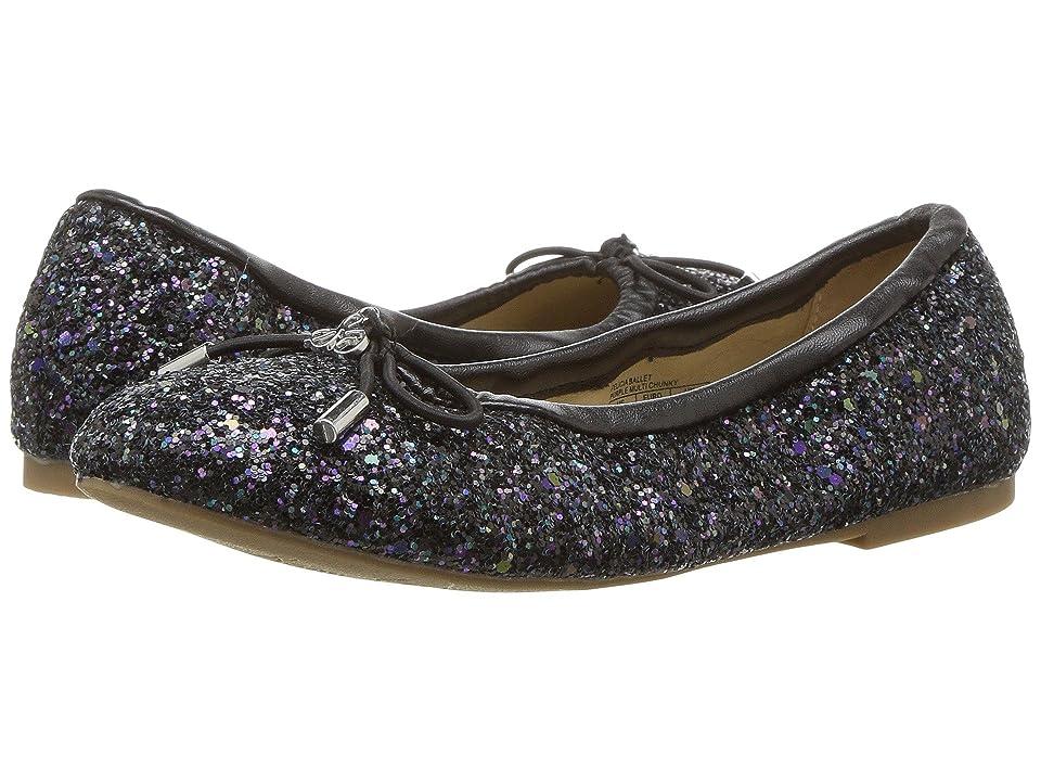 Circus by Sam Edelman Kids Felicia Ballet (Little Kid/Big Kid) (Black Glitter) Girls Shoes