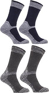 Severyn, Sock Snob 4 Pares Hombre Finos Calcetines Trabajo para zapatos de seguridad