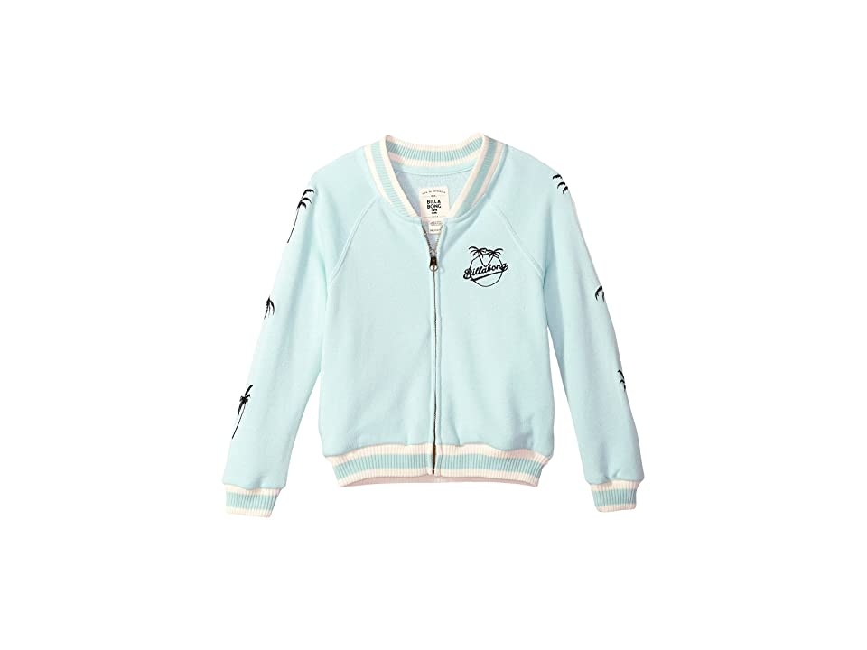 Billabong Kids Girls Rule Jacket (Little Kids/Big Kids) (Beach Glass) Girl