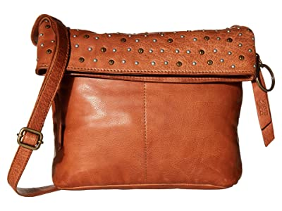 FRYE AND CO. Hallie Crossbody (Cognac) Handbags