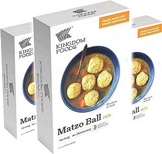 Matzo Ball Mix - No MSG, No Shortening - Kosher for Passover and All Year Round - 4.5 Oz (127g) (3-Pack)