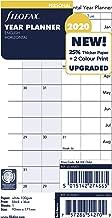 Filofax Refill, Personal/Compact, Full Year Horizontal Planner, English, 2020, 6.75 X 3.75