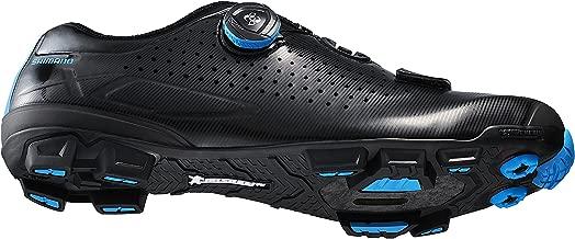 SHIMANO 2018 Men's XC Racing Mountain Bike Shoes - SH-XC7 (Black - 44)