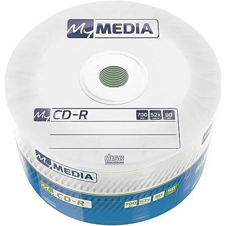 Mymedia Cd R 700 Mb Mit 52 Facher Geschwindigkeit 50 Computer Zubehör