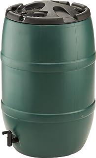 comprar comparacion Strata Products GN321 - Butt sala de agua con tapa bloqueable, de plástico, 120 l, color verde y negro