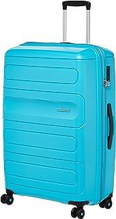 حقيبة سفر كبيرة صلبة صن سايد من أميريكان توريستر باللون الأزرق الفيروزي، 81 سم