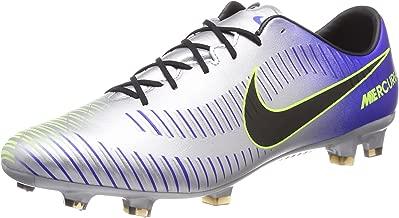 Nike Mens Neymar Mercurial Veloce III FG Soccer Cleats (Racer Blue/Black/Chrome/Volt)