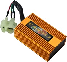 MaySpare High Performance Racing Tuning DC CDI Box 6 Pins For GY6 4-Stork Engine 125cc 150cc 250cc Chinese Scooter ATV No Rev Limit