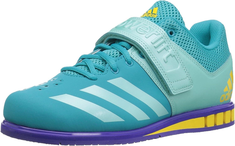 adidas Women s Powerlift quality assurance 3 1W Blue Cross 15 Trainer Shoes Outlet SALE Mediu
