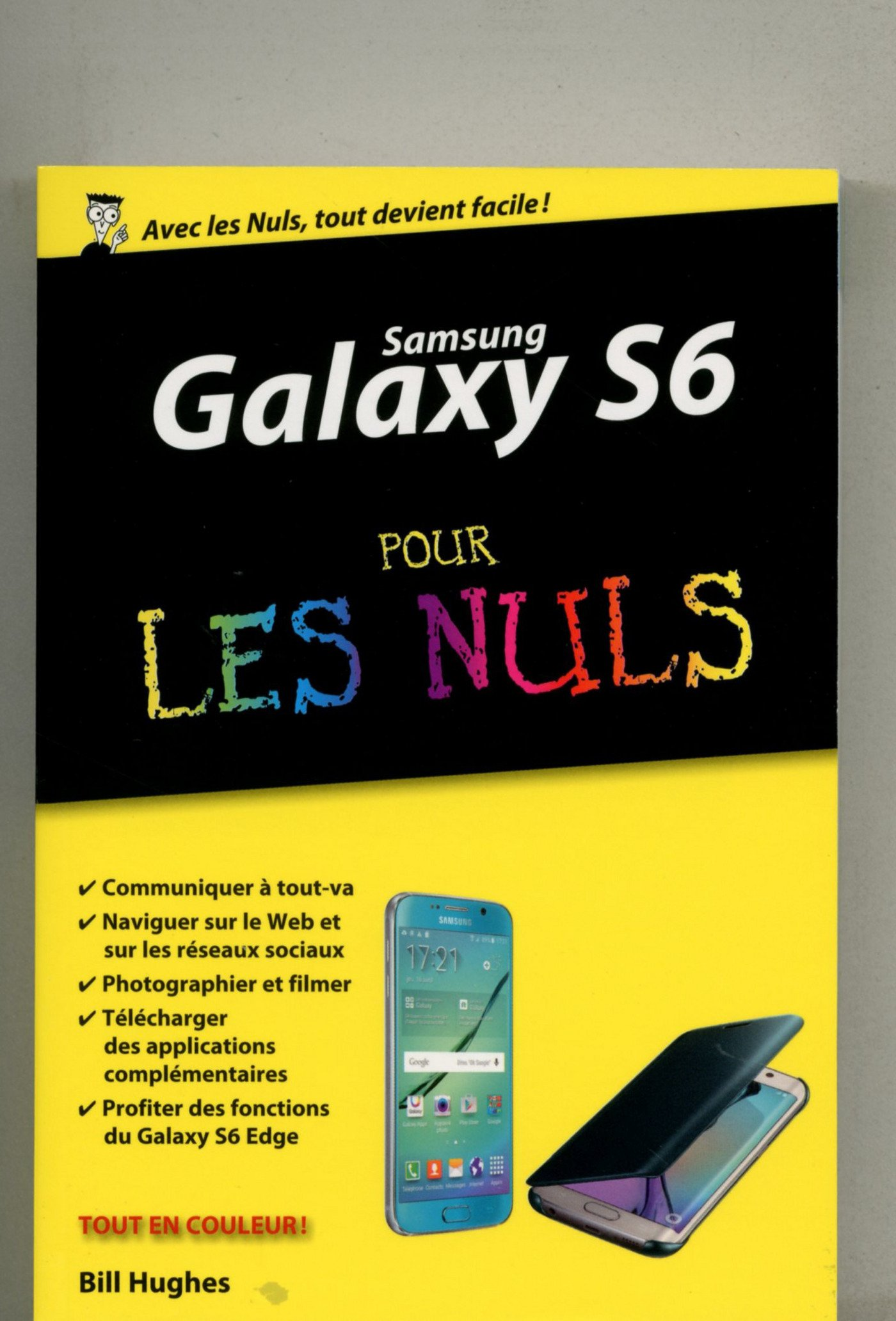 Image OfSamsung Galaxy S6 Pour Les Nuls, édition Poche