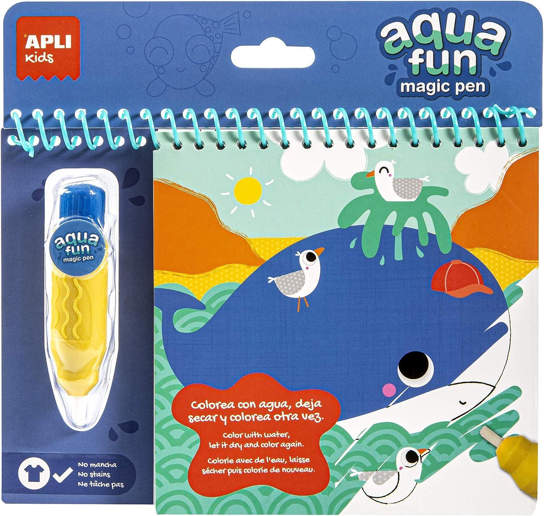 Bloc mágico APLI Kids para colorear con agua por sólo 2,95€ ¡¡73% de descuento!!