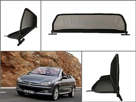 Deflector aire Deflectores de viento Peugeot 206 cc Cabrio 206cc Cabrio WIND BLOCKER NUEVO