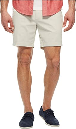 Stretch Twill Classic Fit Performance Deck Shorts