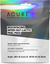 product image for Acure Resurfacing inter-gly-lactic peel pads, 10 pack, 10 Count