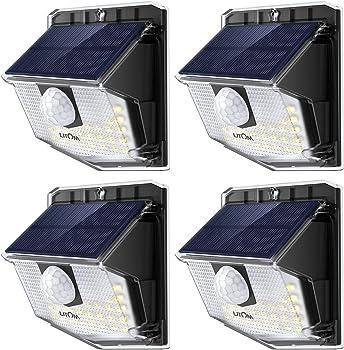 4-Pack LITOM Lite 30 LED Solar Lights