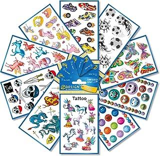 AVERY Specialform tatueringar för barn, flerfärgad, 246 st