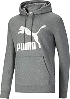 PUMA Men's Iconic French Terry Track Jacket, Black