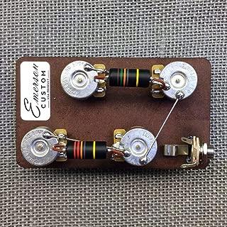 Emerson Custom Les Paul Prewired Kit (Short Shaft)