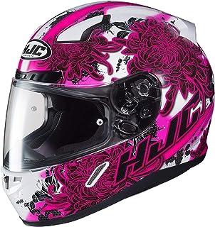 9dec2c87 HJC Unisex Adult Full Face CL-17 Phantom Motorcycle Helmet (MC-8 White