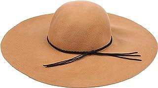 Sakkas Greta Vintage Style Wool Floppy Hat