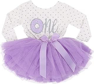 Grace & Lucille 1st Birthday Dress (Long Sleeve)