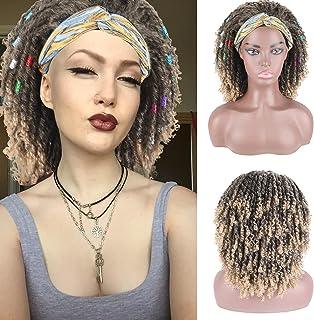 Braided Wigs for Black Women Headband Wigs Synthetic Dreadlock Wig Twist Box Braided Wigs Nu Faux Crochet Hair Wigs with H...