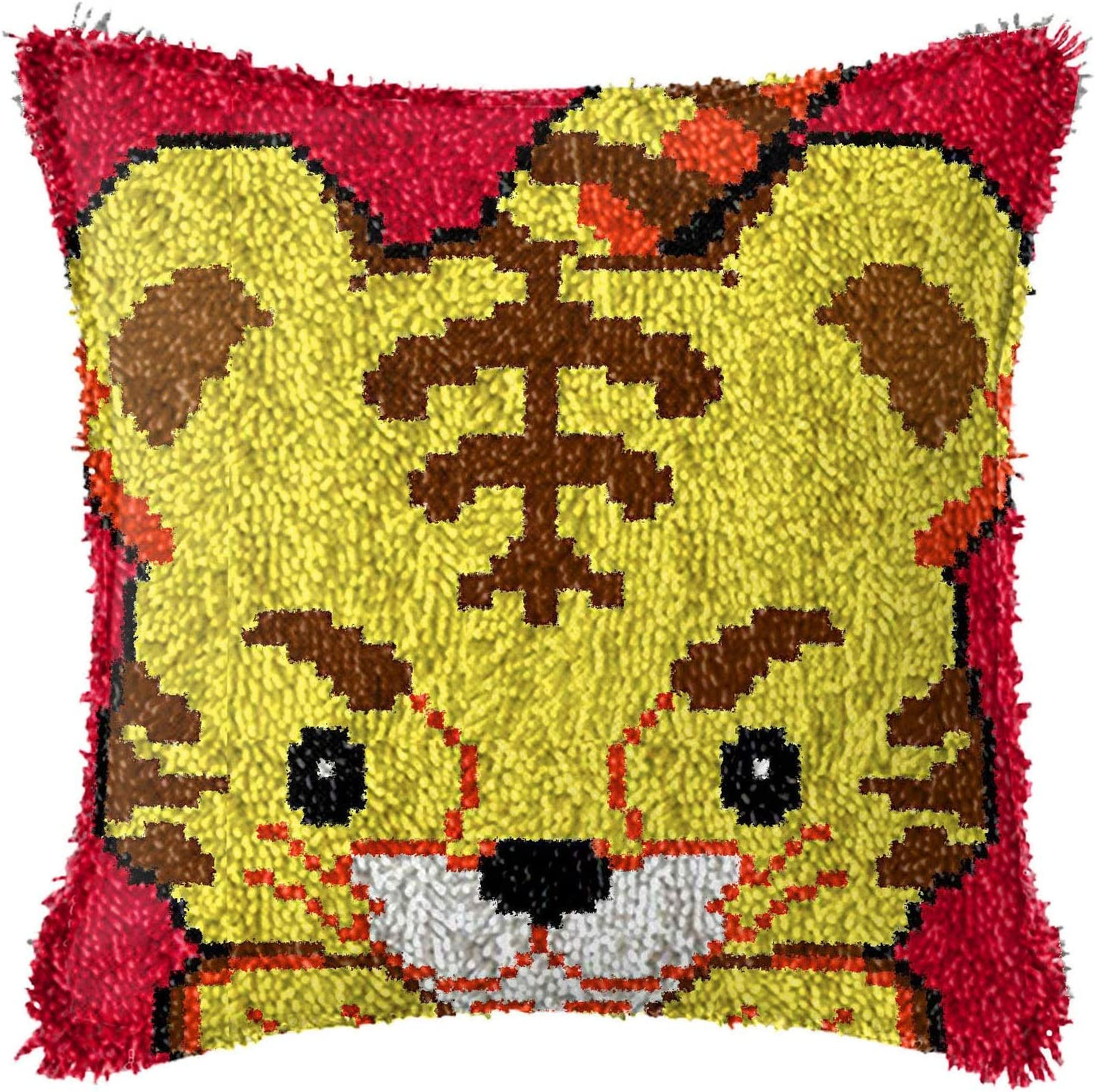 Jacquelyn Latch Hook Animer and price revision Kits DIY Covers Craft Limited time cheap sale Hoo Door Pillow