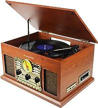 Sunstech PXRC5CDWD - Giradiscos (Bluetooth, CD, Cassette,