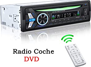TOYOUSONIC Radio Coche CD 1 DIN Reproductor de DVD MP4