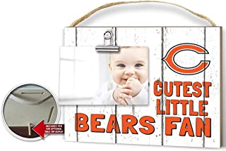 KH Sports Fan Clip It Weathered Baby Logo Photo Frame Chicago Bears