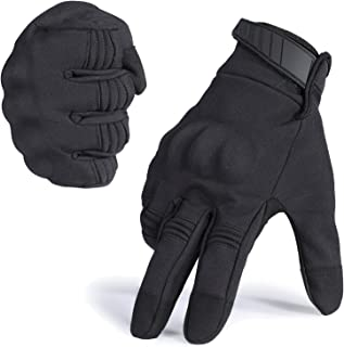WTACTFUL Windproof Touch Screen Warmer Full Finger Gloves for Winter Cycling Motorcycle Hunting Gear