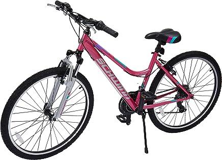 """Schwinn Alta para Mujer Madera Bicicleta de montaña, Rueda de 66cm 16""""/pequeño tamaño del Marco"""
