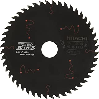 HiKOKI(ハイコーキ) 旧日立工機 スーパーチップソー ブラックII 径125mm 穴径20mm 48枚刃 丸のこ、集じん丸のこ用 0033-4401