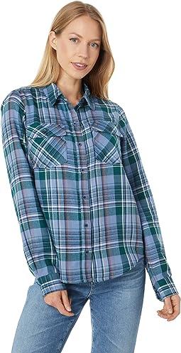 Bridget Midweight Flannel Long Sleeve Shirt